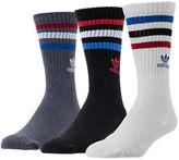 adidas Men's 3-Pack Roller Crew Socks
