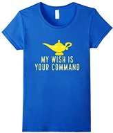 My Wish Is Your Command Genie Lamp Sarcastic Pun T-Shirt
