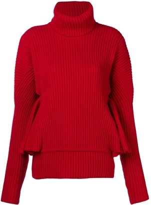 Antonio Berardi Ruffle Sleeve Sweater