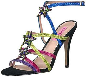 Betsey Johnson Women's Shining Heeled Sandal