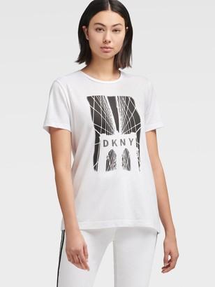 DKNY Brooklyn Bridge Logo T-shirt