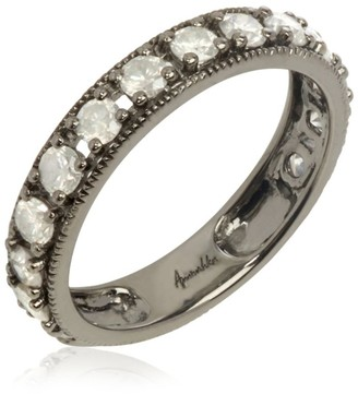 Annoushka White Gold Dusty Diamonds Eternity Ring Size N