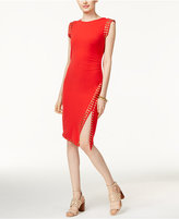 MICHAEL Michael Kors Studded Asymmetrical Sheath Dress, Only at Macy's