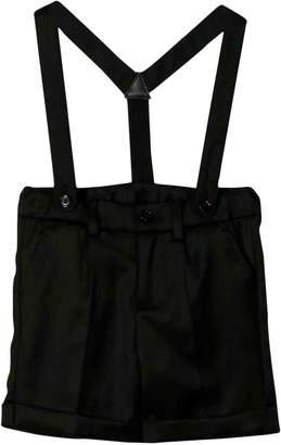 Dolce & Gabbana Baby Black Dungarees Kids