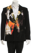 Givenchy Painted Wool Blazer w/ Tags