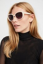 Free People Night Out Pearl Sunglass