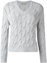 Cruciani cable knit jumper - women - Cashmere - 38