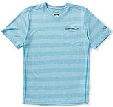The North Face Unrestricted Striped Short-Sleeve V-Neck Tee