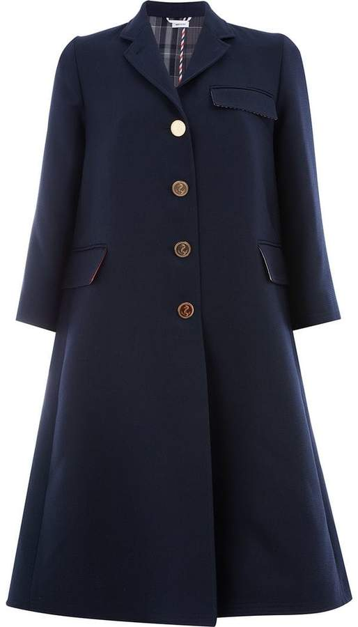 Thom Browne unlined Swing coat