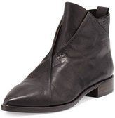 Coclico Arne Leather Ankle Boot, Black