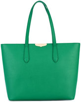 Twin-Set logo plaque tote
