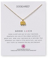 "Dogeared Swarovski Crystal Good Luck Elephant Necklace, 18"" - 100% Exclusive"