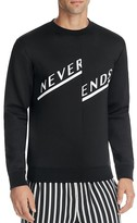 McQ by Alexander McQueen Never Ends Graphic Pullover