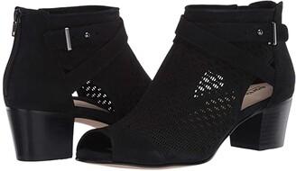 Earth Leros Gaia (Black Soft Buck) Women's Sandals