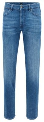 HUGO BOSS Relaxed-fit jeans in super-soft stretch denim