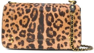 Jerome Dreyfuss Bobi leopard print crossbody bag