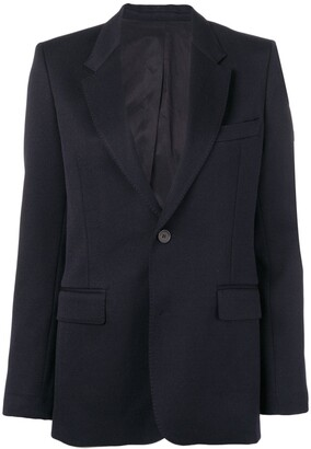 AMI Paris Women's lined two buttons jacket
