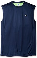 Russell Athletic Men's Big & Tall Color-Blocked Muscle Shirt