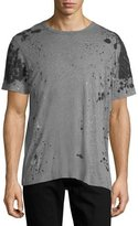 True Religion Paint-Splatter Cotton T-Shirt