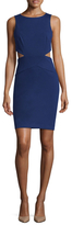 Nicole Miller Queen of the Night Solid Sheath Dress