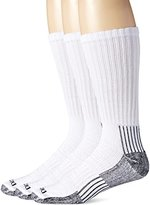 Dickies Men's Big-Tall 3 Pack Heavyweight Cushion with Compression Crew Socks