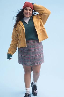Forever 21 Plus Size Plaid Mini Skirt