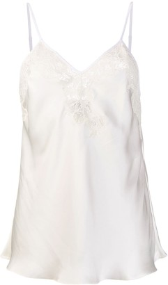 Paco Rabanne Flared Lace Cami
