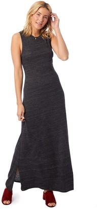 Alternative Apparel Side Slit Maxi Dress