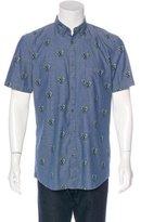 Zanerobe Geometric Heart Print Shirt