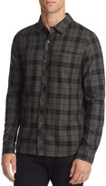 NATIVE YOUTH Breach Plaid Slim Fit Button-Down Shirt