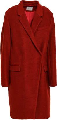 Dagmar House Of Brushed Wool-blend Coat