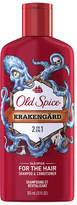 Old Spice 2-In-1 Mens Shampoo & Conditioner Krakengard