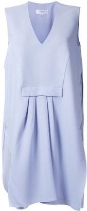 Carven Pleat-Detail Shift Dress
