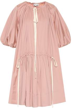 Lee Mathews Exclusive to Mytheresa Elsie cotton-blend tunic dress