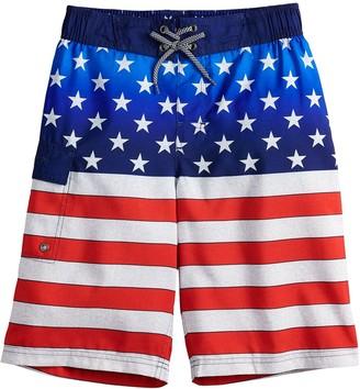 ZeroXposur Boys 8-20 Americana Swim Trunks