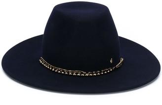 Maison Michel Chain-Detail Fedora Hat