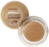 Maybelline Dream Mousse Concealer Corrector, Latte Dark 0-1 .11 oz (3 g) by Maybeline New York