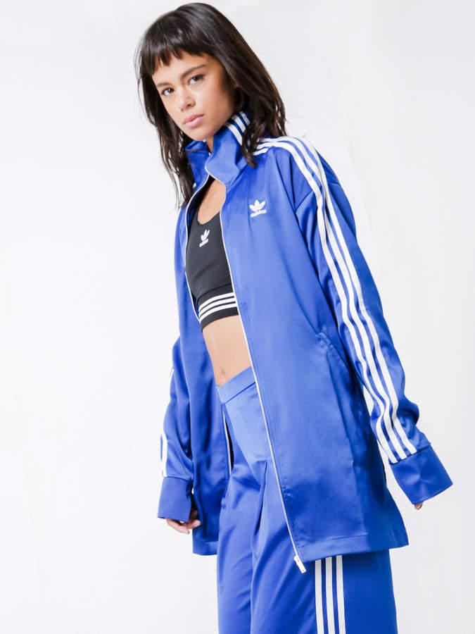 adidas Fashion League Track Jacket in Collegiate Royal Blue
