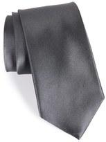 Nordstrom Solid Satin Silk Tie (X-Long)