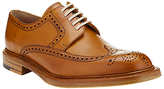 John Lewis & Co. Made In England Leather Brogue Derby Shoes