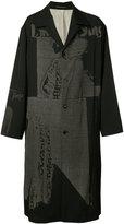 Yohji Yamamoto Runway coat - men - Silk/Wool/Cupro - 3