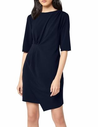 Find. Amazon Brand Women's Drape Hem Shift Dress