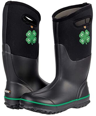Bogs Classic Tall 4-H (Black) Women's Boots