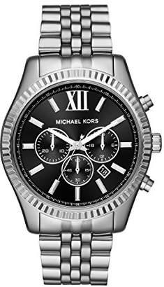 Michael Kors Men's Lexington Analog-Quartz Watch with Stainless-Steel Strap