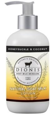 Dionis Lotion, Honeysuckle & Coconut