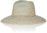 Lola Hats Women's Topstitched Straw Hat