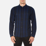 Edwin Men's Labour Shirt Navy/Black