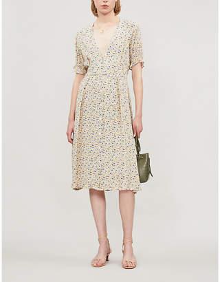 Faithfull The Brand Farah floral-print rayon dress