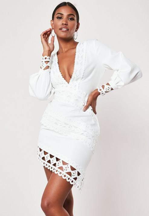 4d539515b28 Missguided Lace Dresses - ShopStyle