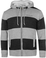 Soul Cal SoulCal Stripe Lined Knit Zip Hoodie